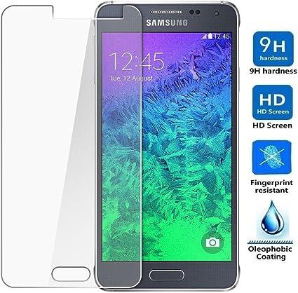 REY Protector de Pantalla para Samsung Galaxy A5 2016 Cristal ...