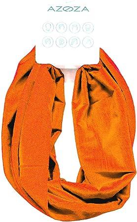 Multifunktionstuch Herren Damen Halstuch Schlauchtuch Outdoor Motorrad Fahrrad Schlauchschal Schlauch Tuch Schal Orange Auto