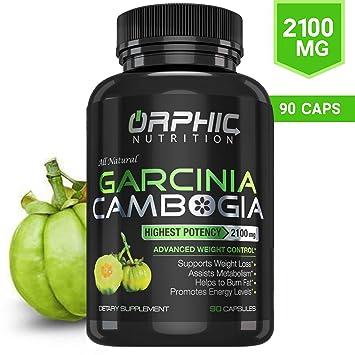100 Pure Garcinia Cambogia Extract 95 Hca 2100mg Appetite Suppressant Capsules Orphic