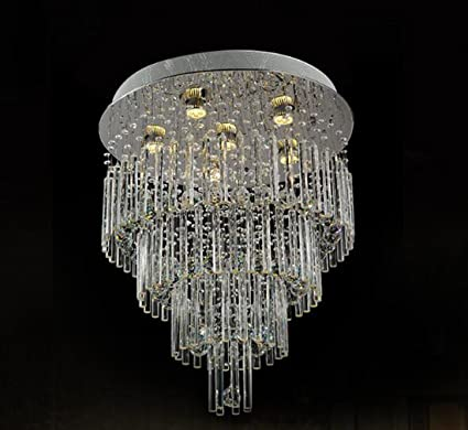 Ceiling Lights Ceiling Lights & Fans Led Crystal Ceiling Lamp Round Modern Minimalist Master Bedroom Lamp Warm Romantic Room Lamp Restaurant Lighting