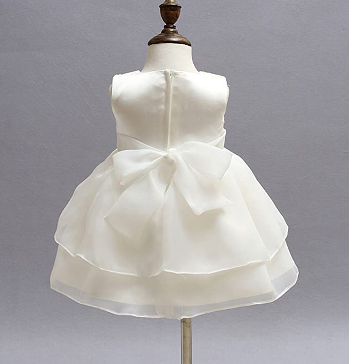 Amazon.com: Baby Girl Princess Tulle Dress Floral Embroidery Wedding Party Pageant Dress: Clothing