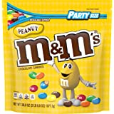 M&M'S Peanut Chocolate Candy, 38-Ounce Party Size Bag, Yellow