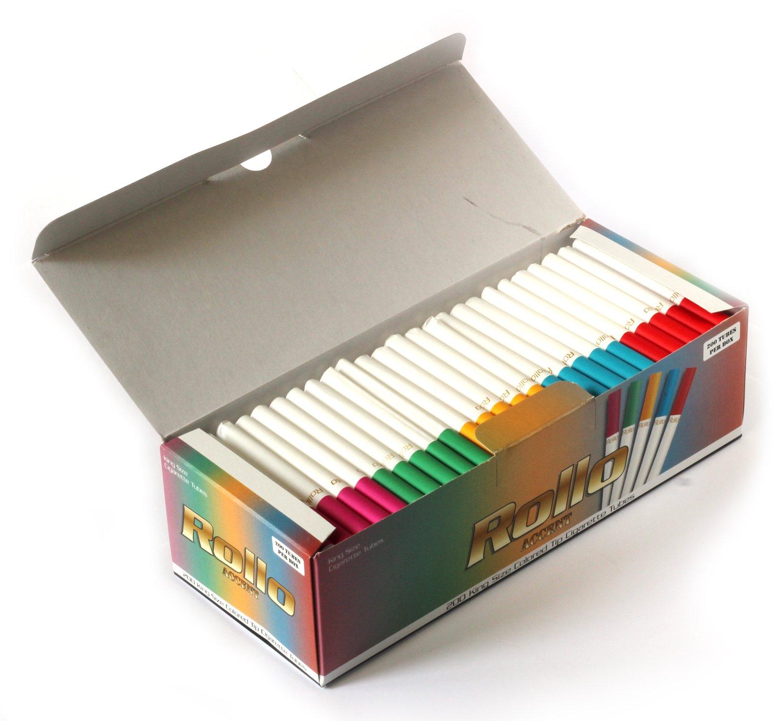 Amazoncom Rollo Masterpiece King Size Multi Colored Cigarette