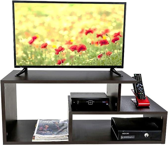 ComfyBean   TV Unit  Celestial    Modern Design   Elegant Finish  Color : Dark Wenge  TV   Entertainment Units