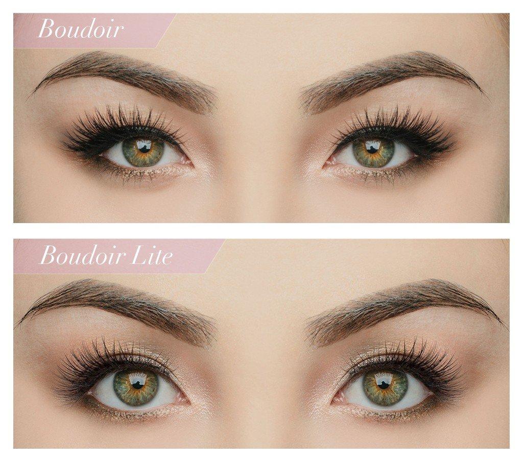 e8da4e460c0 Amazon.com : House of Lashes Lite Collection False Eyelashes (Boudoir Lite  1PK) : Beauty