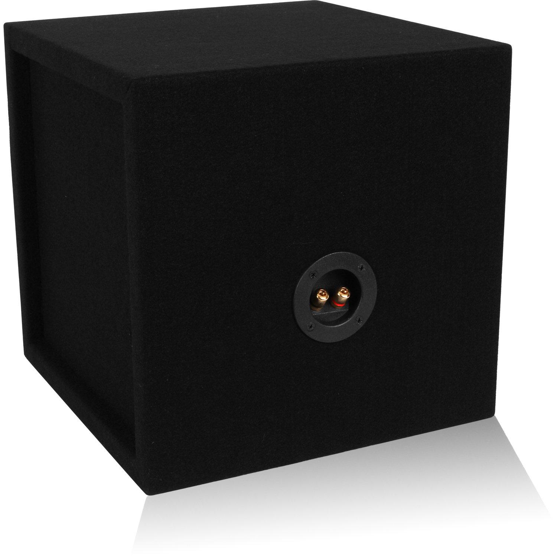 """Car Audio Dual 2 Sub 10 inch Sealed Car Subwoofer Box Enclosure made w 3//4/"""" MDF!"""