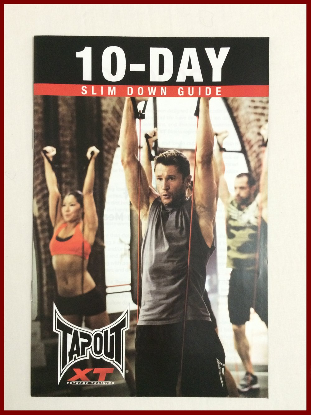 TapouT XT Complete Fitness Program including BONUS 3 Pack Leg Resistance Bands + MORE