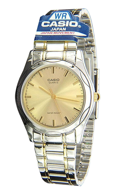Amazon.com: Casio General Mens Watches Metal Fashion MTP-1275SG-9ADF - WW: Watches