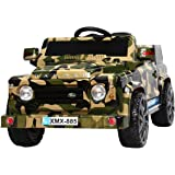 """Ricco XMX885 """"Camouflage Ride on Kids/MP3 Electric Power"""" Remote Control Car"""