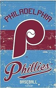 Rico Industries, Inc. Philadelphia Phillies Vintage Garden Flag Premium 2-Sided Retro Banner Baseball