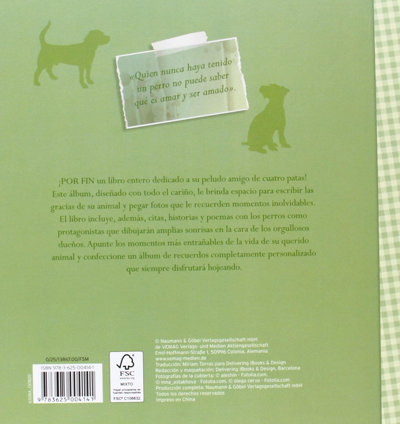 ALBUM DE MI PERRO.(RECUERDOS DE MI MASCOTA): VV.AA.: 9783625004141: Amazon.com: Books