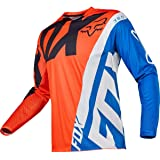 Fox Racing 360 Creo Youth Boys Off-Road Motorcycle Jerseys - White/Yellow