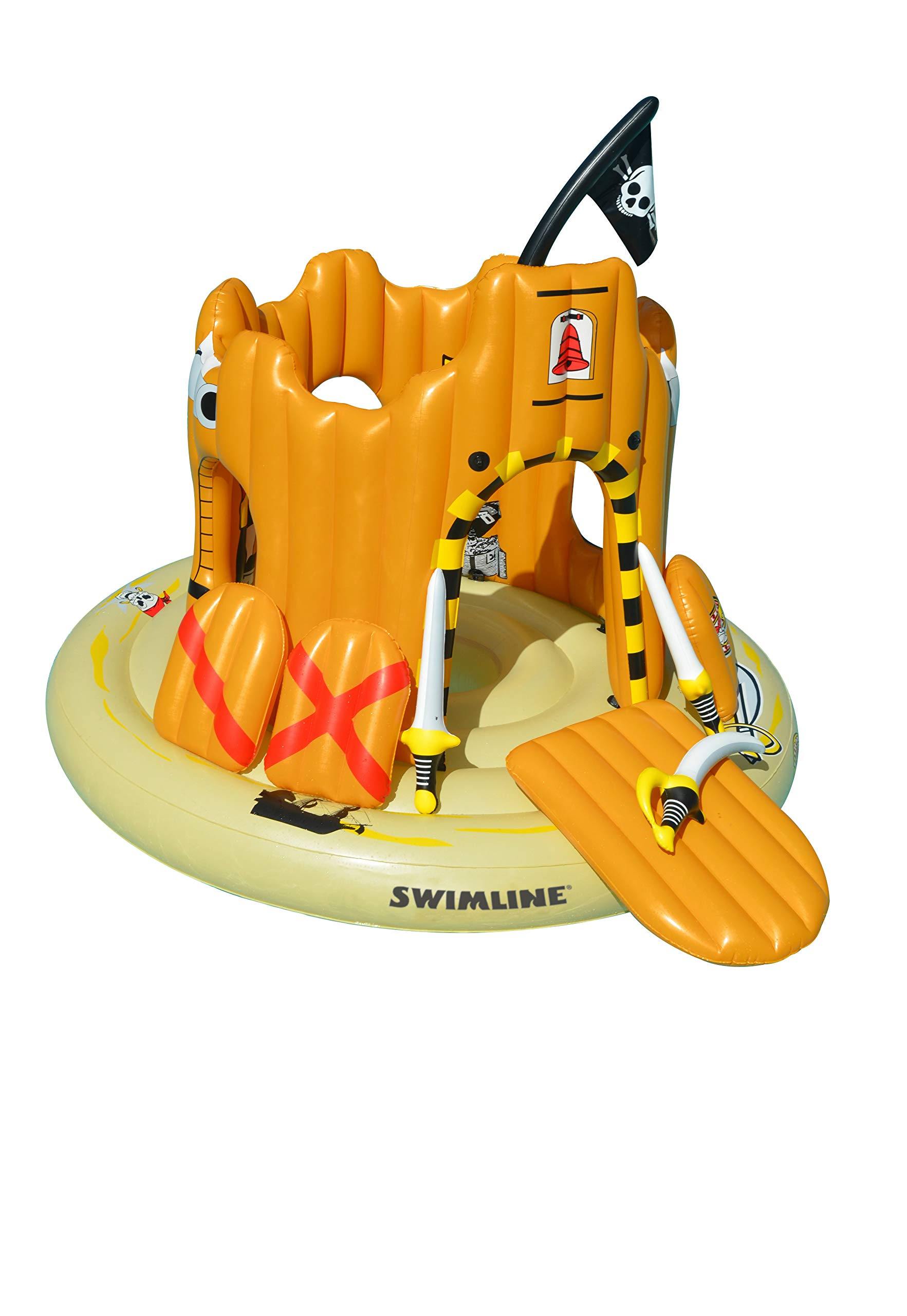 Swimline Pirate Island Pool Float by Swimline (Image #2)