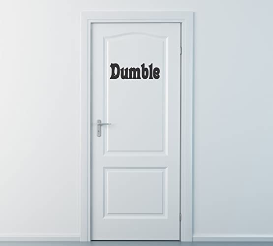 Dumble Door Wall Decal