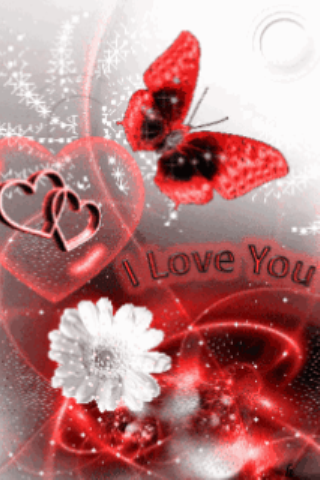 Amazon Com Butterfly I Love You Live Wallpaper Appstore For Android