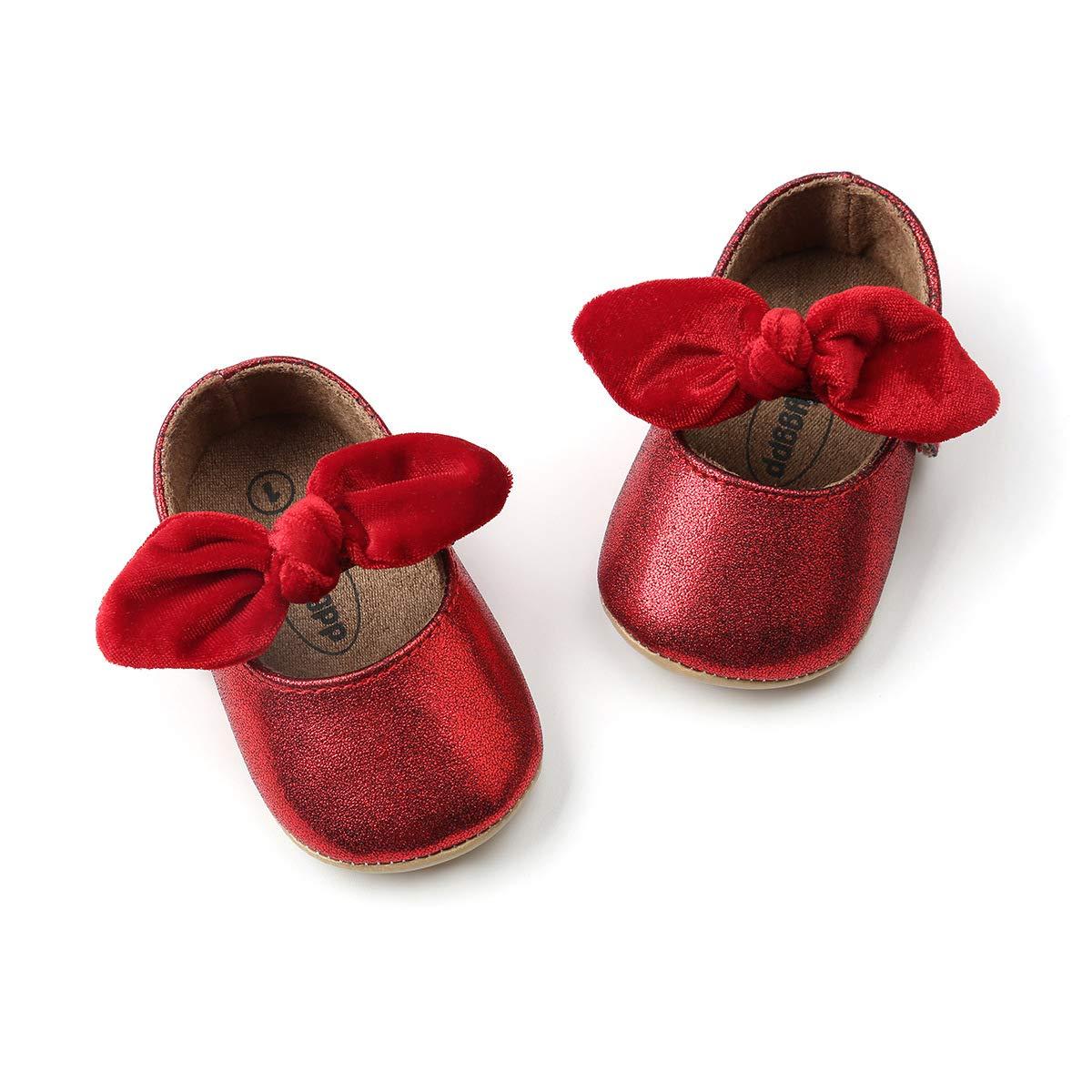 a55a5cd62d96f DOTBUY Chaussures Enfants Filles Bébés, Nouveau Né Bowknot Toddler ...