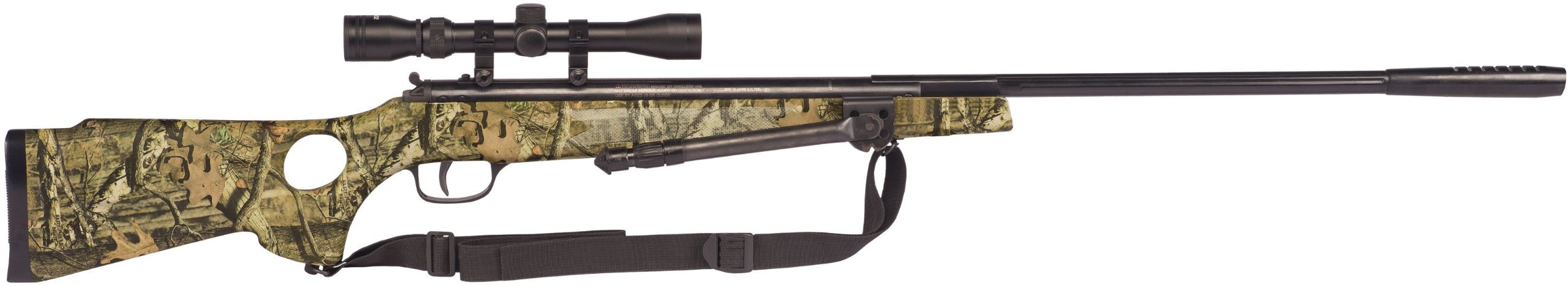 Winchester Model 1400CS .177 Caliber Break-Barrel Air Rifle with Scope/Bi-Pod/Sling, Mossy Oak by Winchester