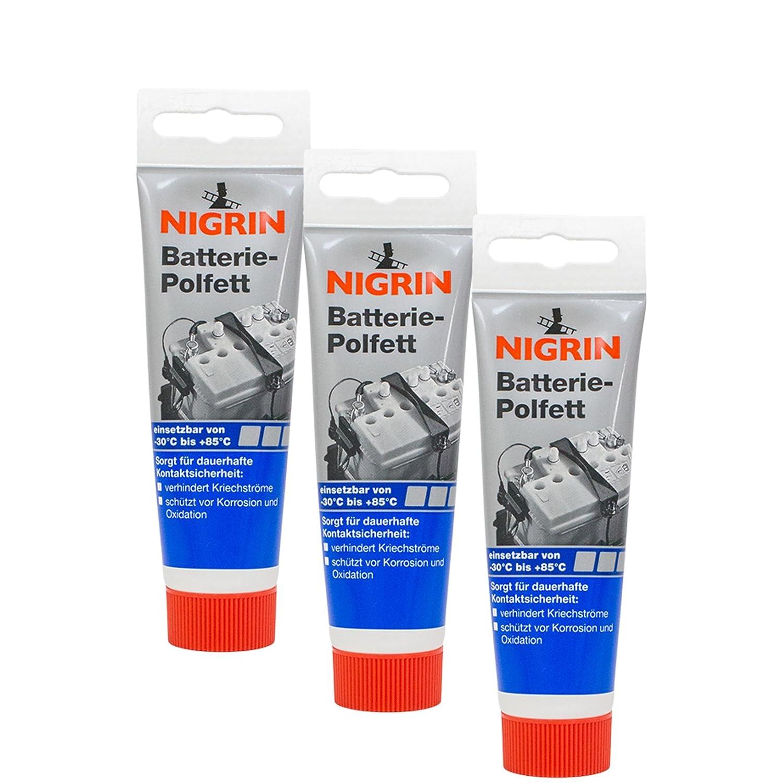 Nigrin 3X 72265 Batterie-Polfett 50 g