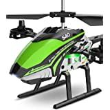 RC Helicopter, SYMA S40 Helicopter with 4 Channel Aircraft, Sturdy Alloy Material, Gyro Stabilizer and High &Low Speed, Multi