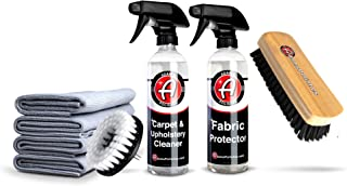 product image for Adam's Fabric Protector - Protect Carpets, Convertible Fabric Tops, Seats, and Interior Surfaces - Durable, Hydrophobic Treatment That is Safe on Fabric, Carpet, Upholstery, and More (Complete Kit)