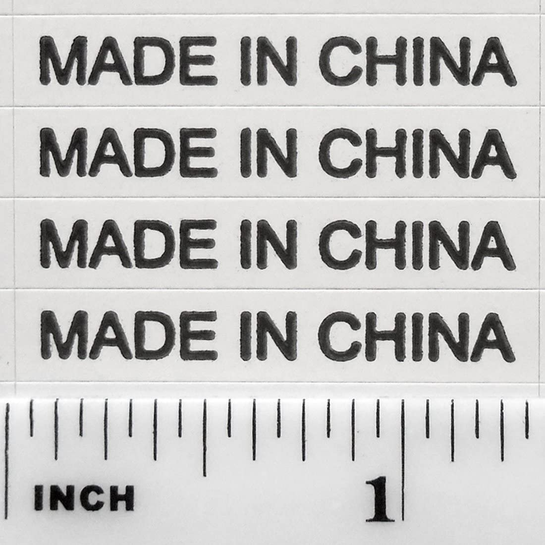 zhoushengmeizhuang Labels Stickers White Waterproof Self Adhesive Write On Roll Labelling Stickers for Jars Bottles 1000 Pieces 80 x 30mm