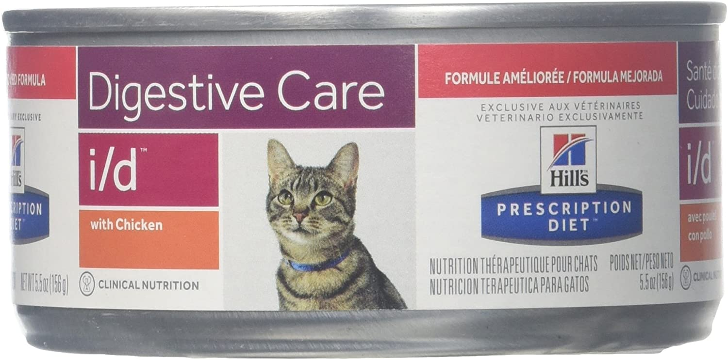 Hill's Diet i/d Feline Gastrointestinal Health Canned Cat Food (24-5.5oz cans)