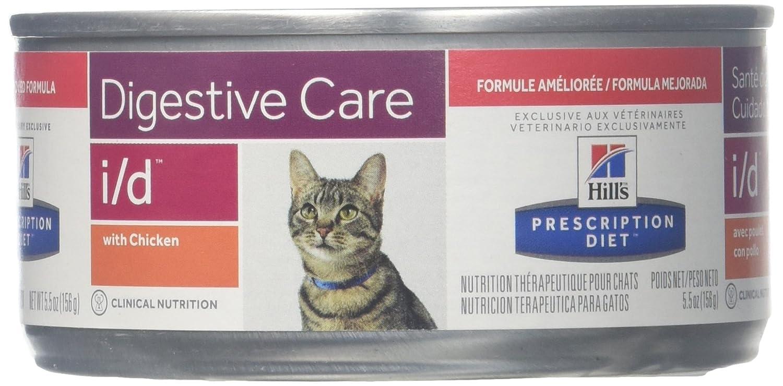 Hills Prescripción Diet Feline I/D Pollo 24 x 156 g: Amazon.es ...