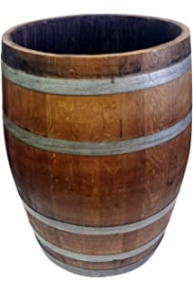 Amazoncom Mgp Water Tight Half Wine Barrel Planter 26 X 18 X