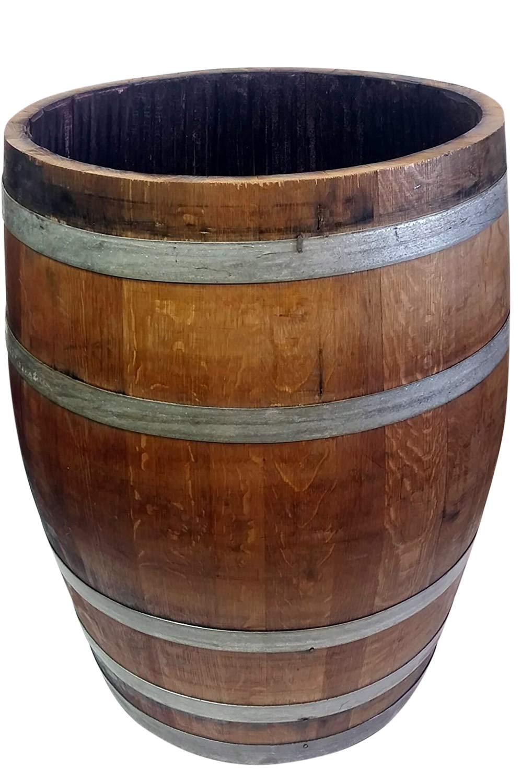 MGP Lacquered Wine Barrel Planter