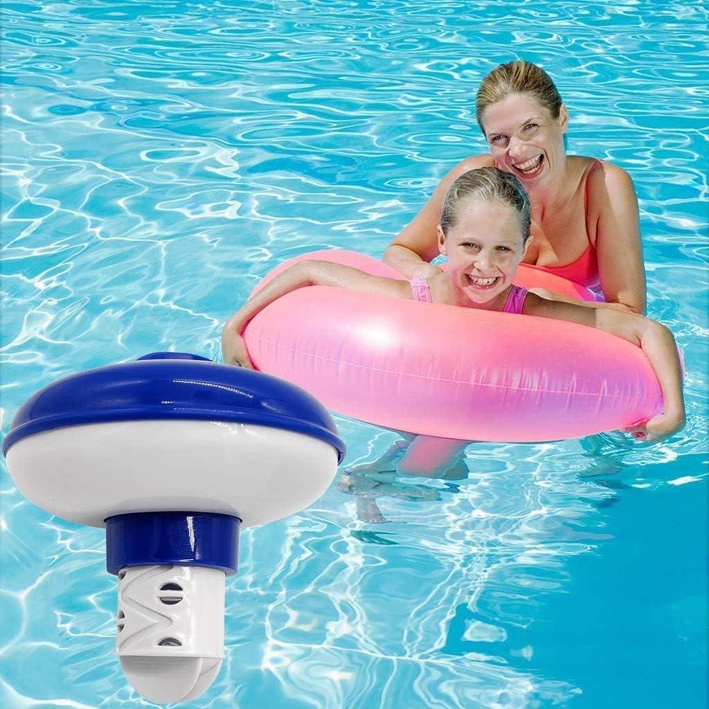 MOSOY - Dispensador de cloro flotante para piscina, flotador de tabletas de cloro para piscina, dispensador de cloro, flotador de cloro (5 pulgadas): Amazon.es: Jardín