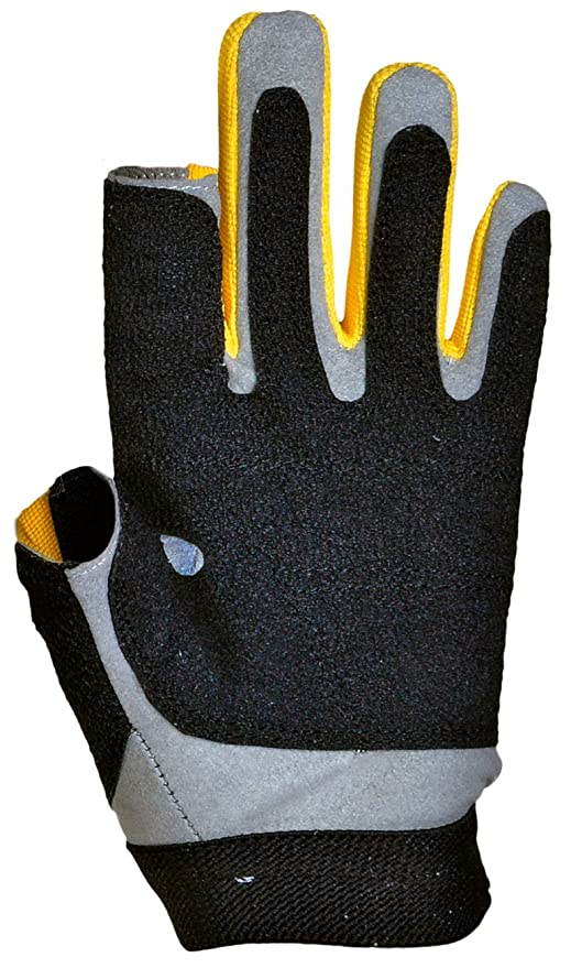 Bekleidung Dry Fashion Protection Segelhandschuhe 2 Finger frei Wassersport Regatta Gloves