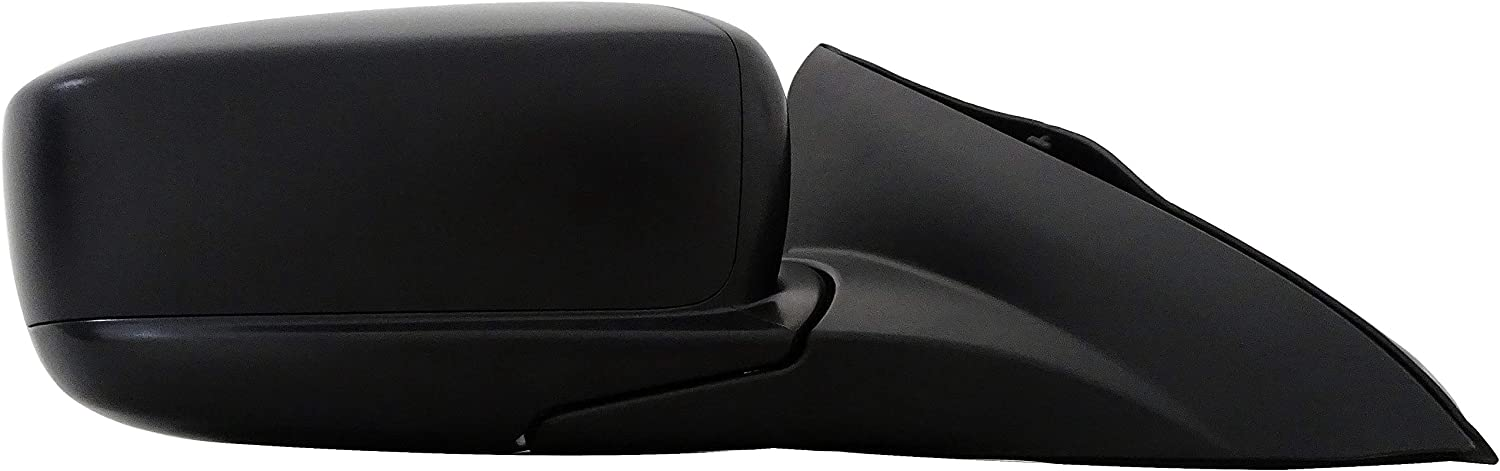 Dorman 955-1691 Passenger Side Power Door Mirror Black Heated//Folding for Select Honda Models