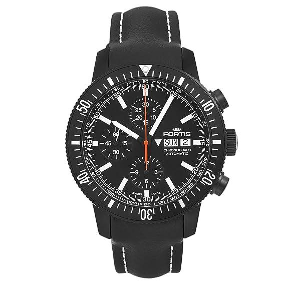 Fortis Official Cosmonauts Monolito Cronógrafo Reloj Swiss para hombre 638.18.31 L01