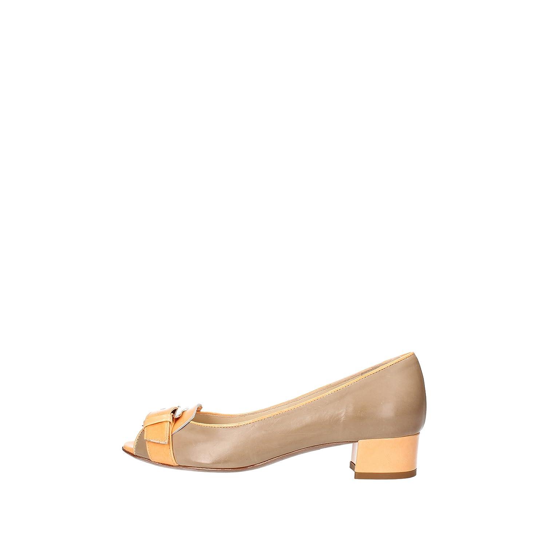 - CALPIERRE Pumps-shoes Womens Leather Beige