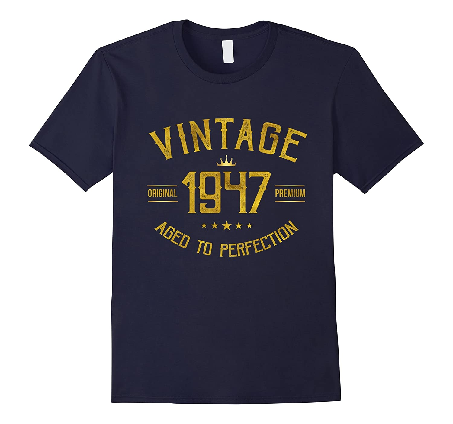 Vintage 1947 T-Shirt 70 years old B-day 70th Birthday Gift-Vaci