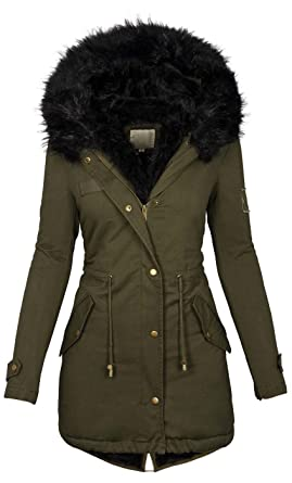 Sehr warme winterjacke damen