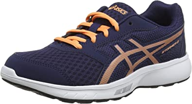 ASICS Stormer 2 GS, Zapatillas de Running Unisex Niños: Amazon ...