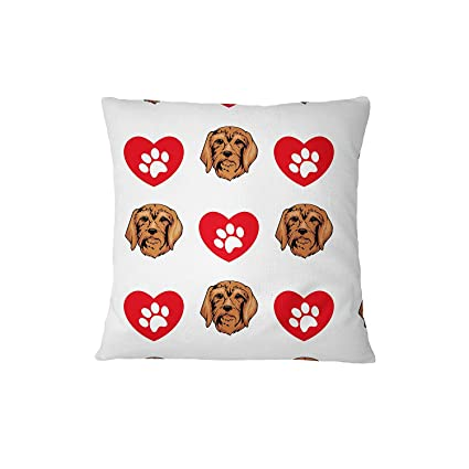 Amazon.com: Segugio Italiano Dog Heart Paws Sofa Bed Home ...