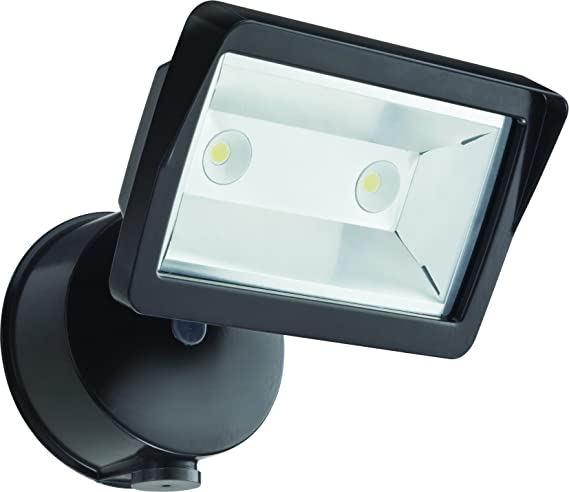 9. Lithonia Lighting OLFL 14 PE BZ M4 Security LED Dusk-to-Dawn Floodlight