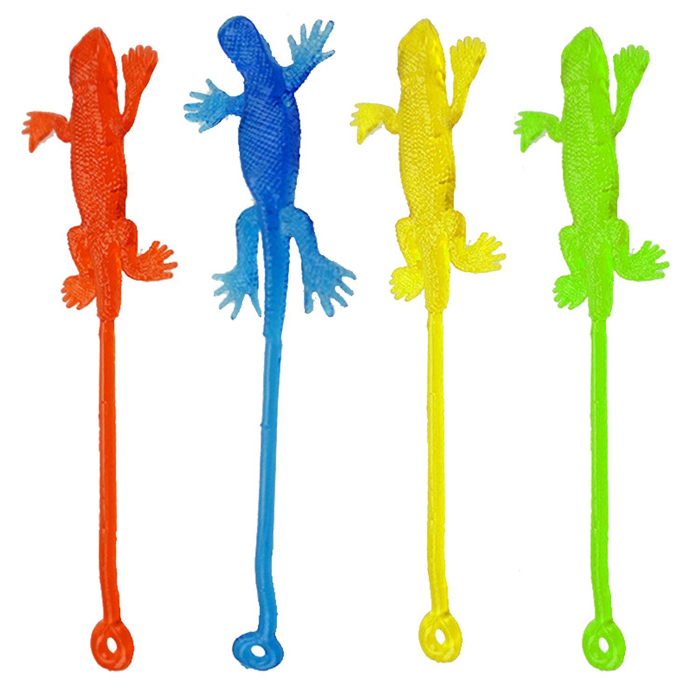 Sticky Amp Stretchy Toys : Bilipala stretchy sticky hands toys lizards pack of