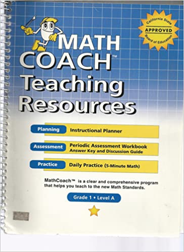 Instructional Planner (Math Coach: A Guide to the New