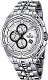 Festina - F16881-1 - Montre Homme - Quartz Chronographe - Cadran Blanc - Bracelet Acier Argent