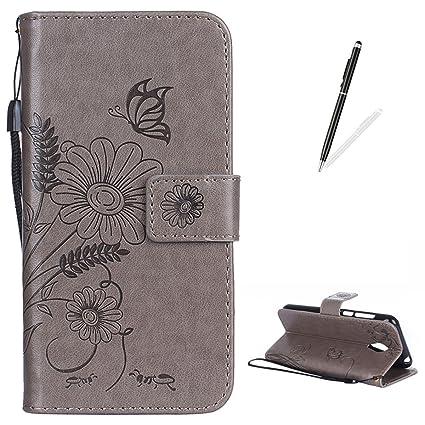 Amazon com: MEIZU Meilan 2 Case Soft Leather KaseHom Flip
