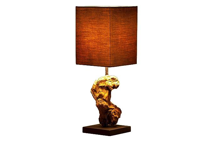 DuNord Design JAVA – Lámpara de mesa de pieza única de ...