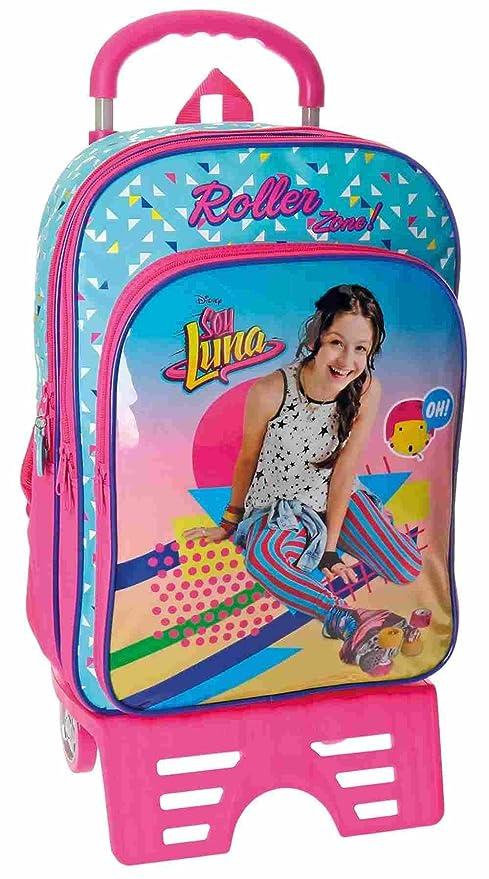 Mochila Carro Doble Cremallera Yo Soy Luna Roller Zone