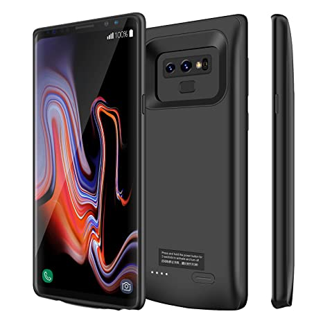 Kunter Galaxy Note 9 Battery Case, 5000mAh Portable Battery Charger Case, Rechargeable Extended Battery Pack Charging Case for Samsung Galaxy Note 9