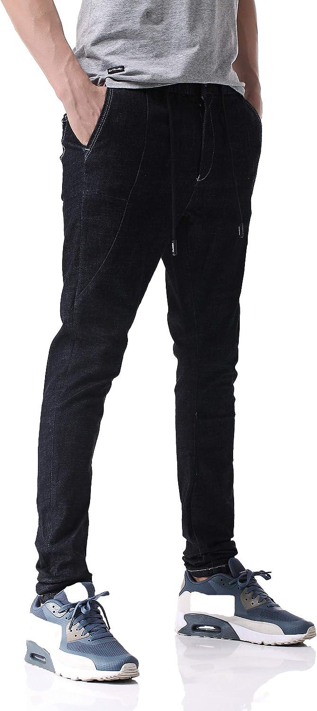 Pau1Hami1ton Vaqueros Skinny,Pantalones para Hombre, D-01