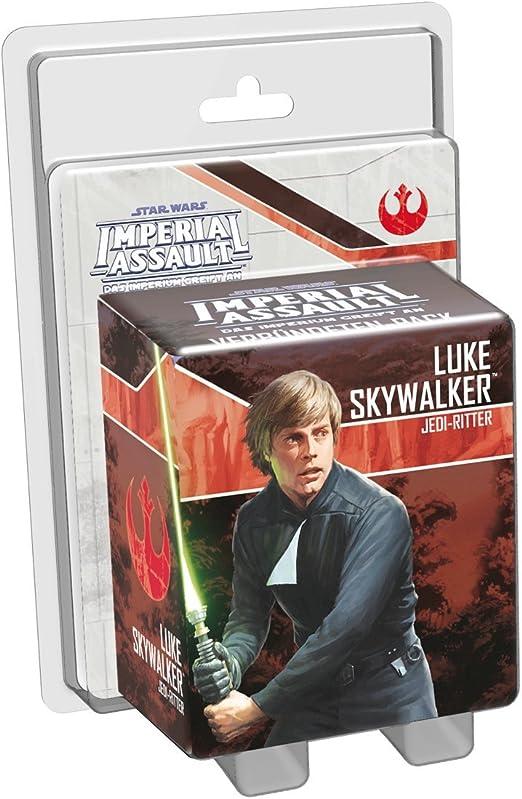 Fantasy Flight Games FFGD4538 Star Wars: Imperial Assault-Luke Skywalker - Juego de Mesa (Contenido en alemán): Amazon.es: Juguetes y juegos