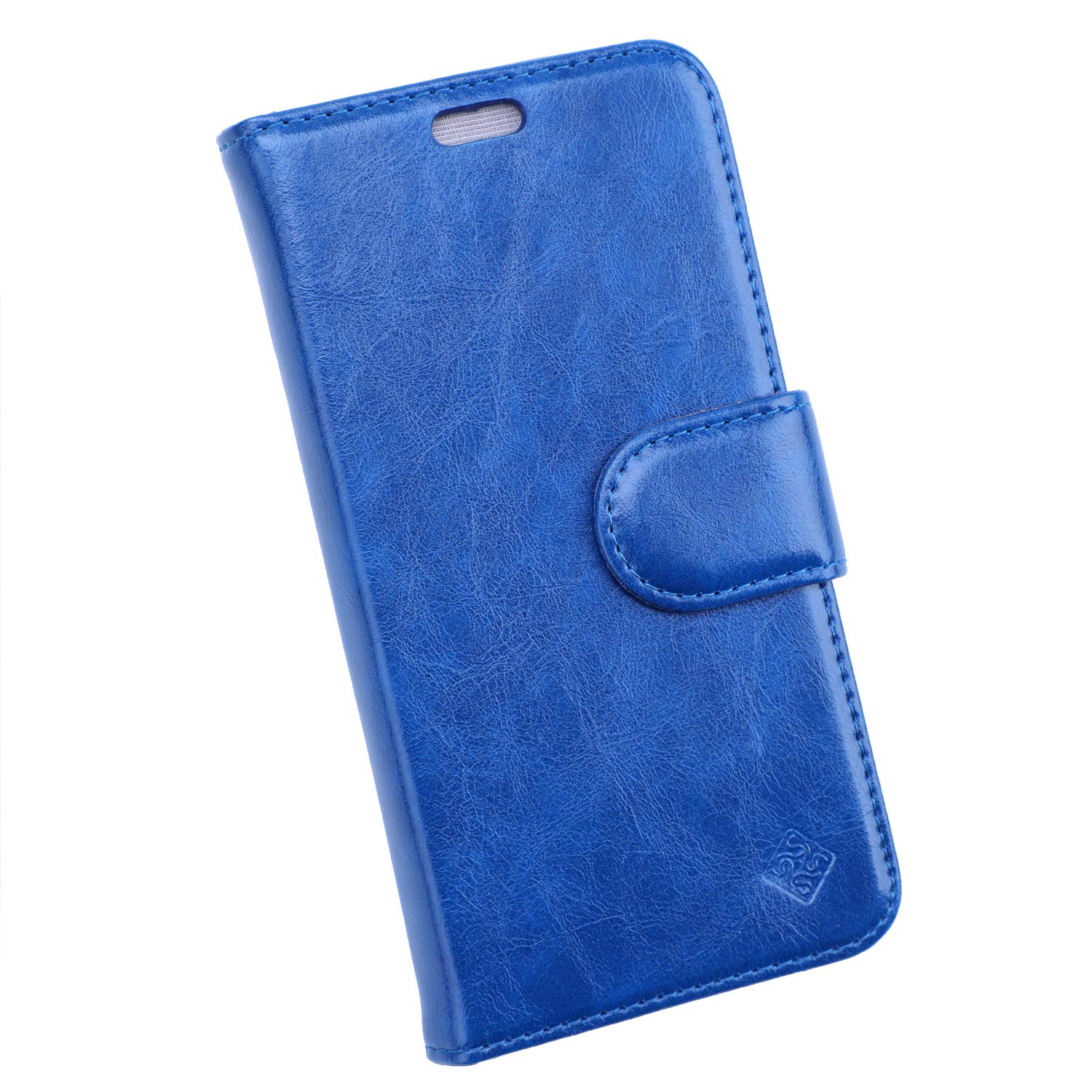 Sanxir Anti-Radiation Case, EMF and RF Protection Wallet Case Against Drops and Bump for Samsung Galaxy S9 with A New Classes of Nanoscale Graphene-Based Materials, with RFID Protection. (Blue)