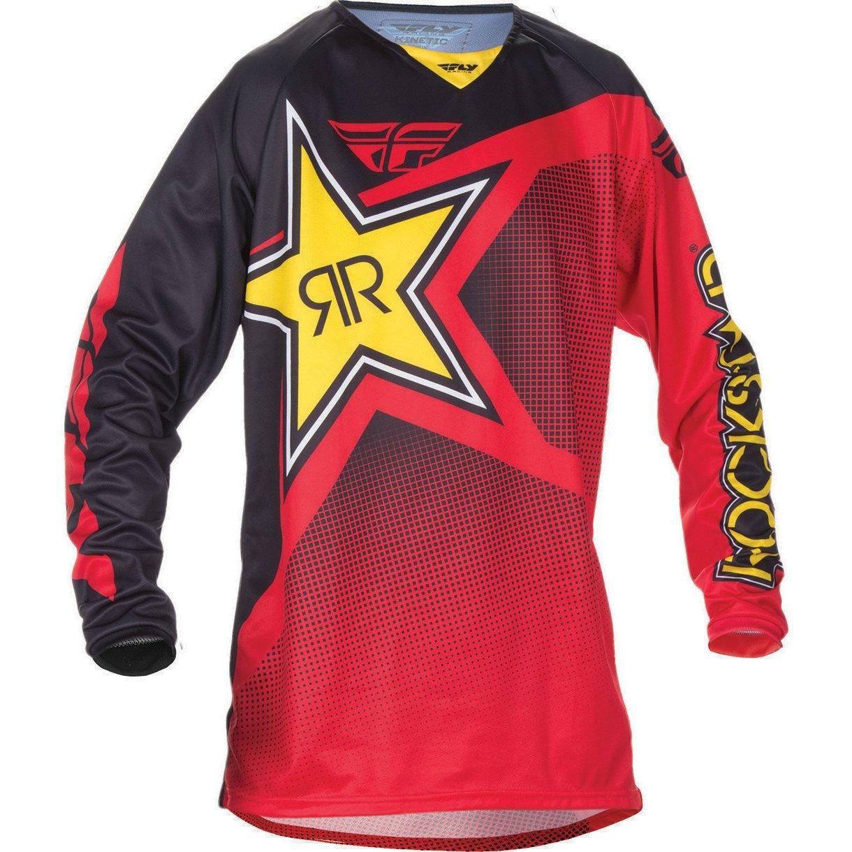 Fly Racing Mountainbike /& Motocross Mesh Hemd blau-wei/ß-orange Fahrerhemd